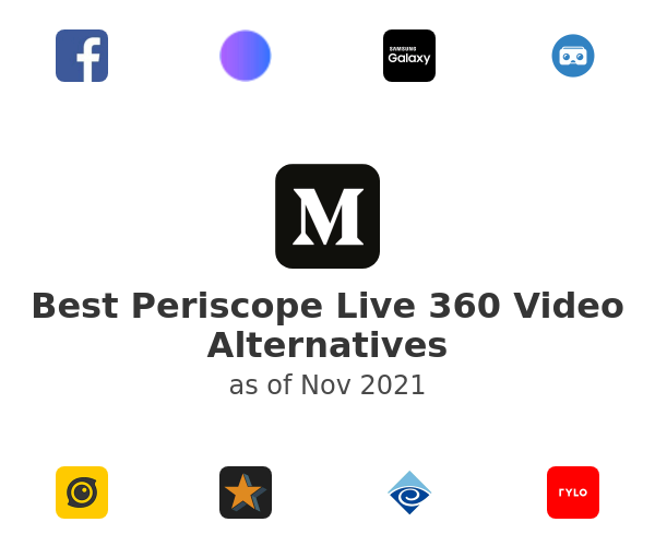 Best Periscope Live 360 Video Alternatives