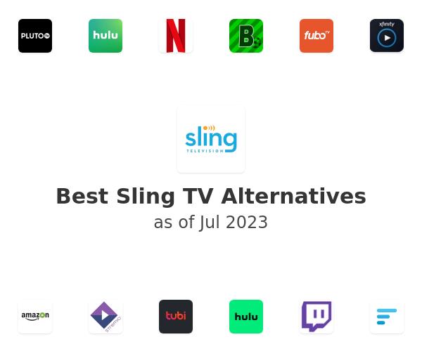 Best Sling TV Alternatives