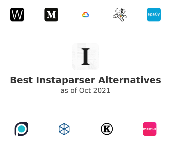 Best Instaparser Alternatives