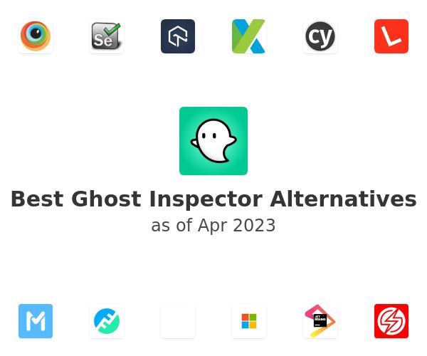 Best Ghost Inspector Alternatives