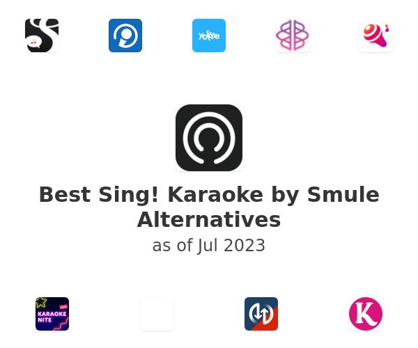 Best Sing! Karaoke by Smule Alternatives