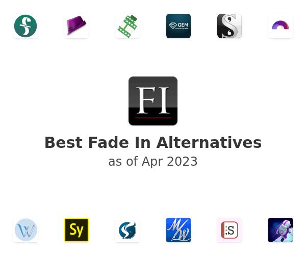 Best Fade In Alternatives