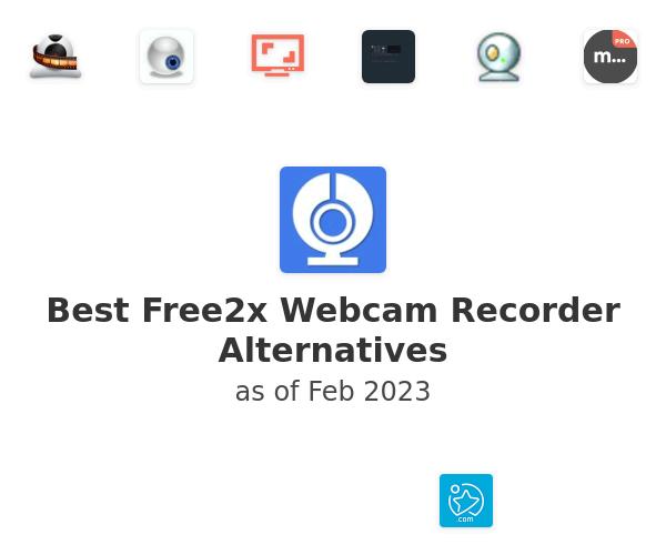Best Free2x Webcam Recorder Alternatives