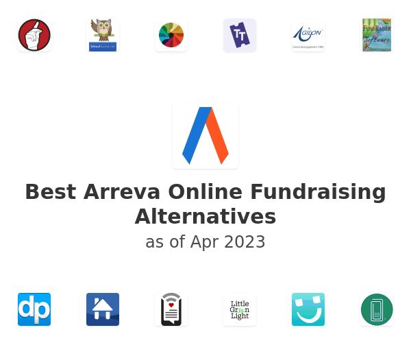 Best Arreva Online Fundraising Alternatives