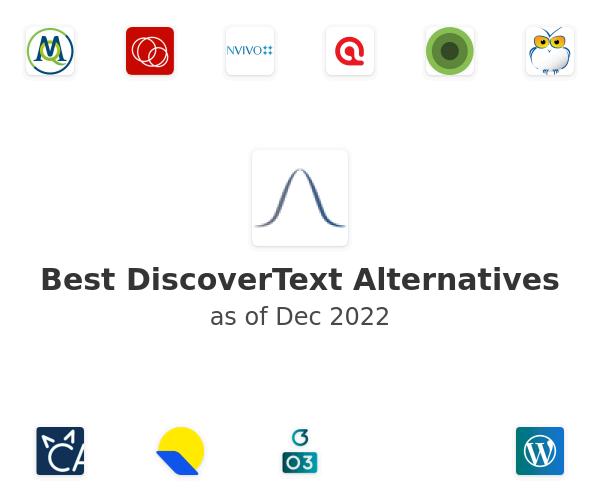 Best DiscoverText Alternatives