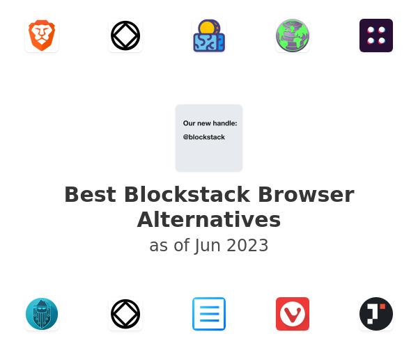 Best Blockstack Browser Alternatives
