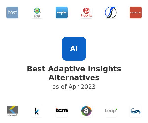 Best Adaptive Insights Alternatives