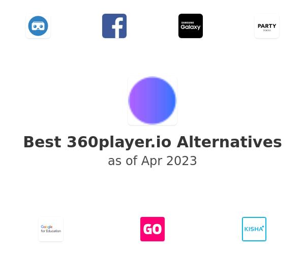 Best 360player.io Alternatives