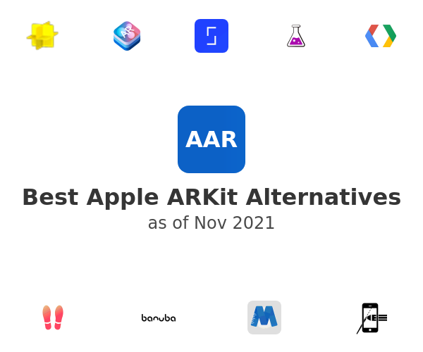 Best Apple ARKit Alternatives