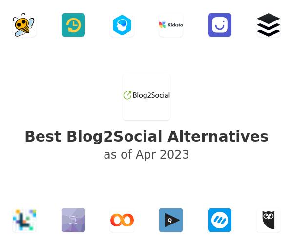 Best Blog2Social Alternatives