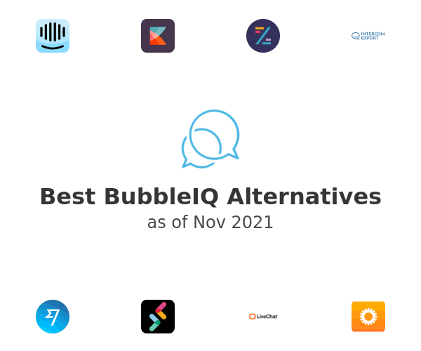 Best BubbleIQ Alternatives