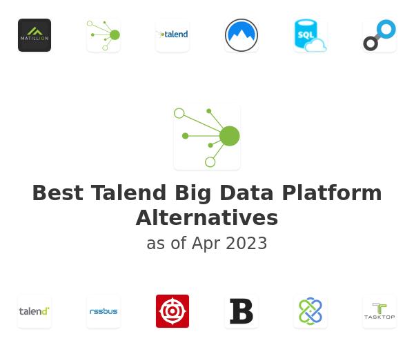 Best Talend Big Data Platform Alternatives