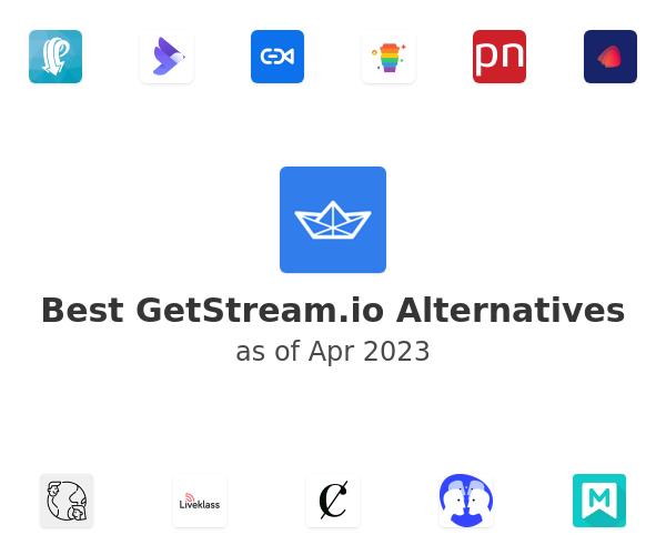 Best GetStream.io Alternatives