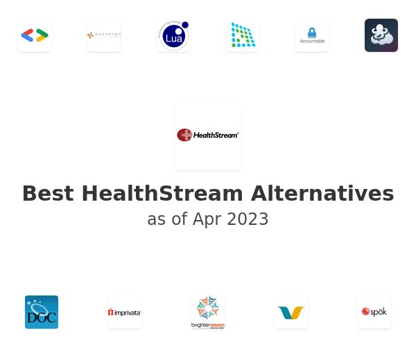 Best HealthStream Alternatives