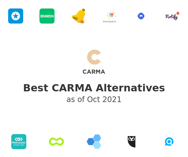 Best CARMA Alternatives
