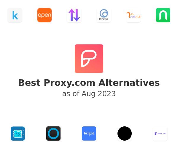 Best Proxy.co Alternatives