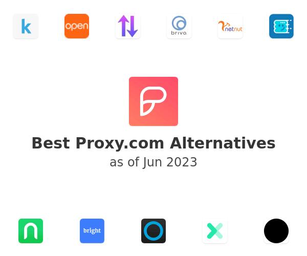 Best Proxy.com Alternatives