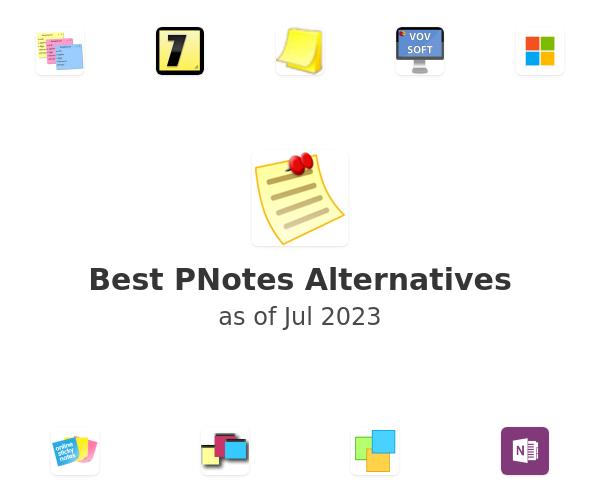 Best PNotes Alternatives