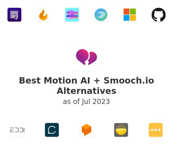 Best Motion AI + Smooch.io Alternatives
