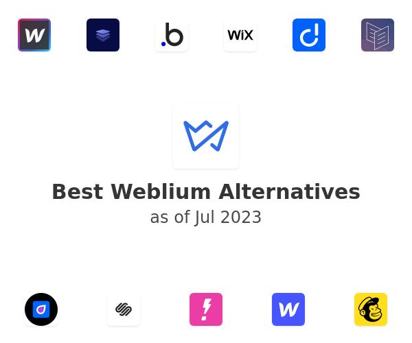 Best Weblium Alternatives