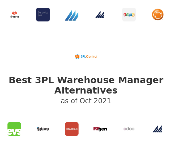 Best 3PL Warehouse Manager Alternatives