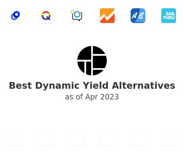 Best Dynamic Yield Alternatives