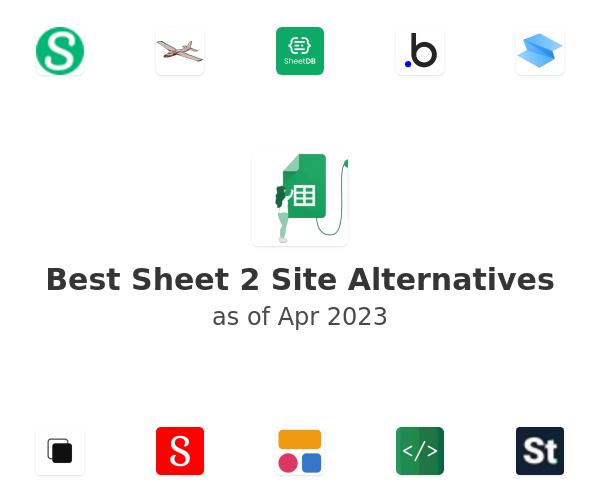 Best Sheet 2 Site Alternatives
