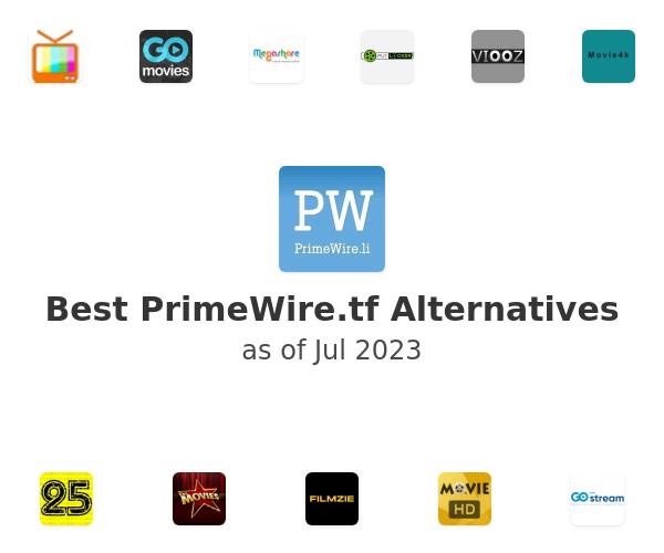 Best PrimeWire.li Alternatives