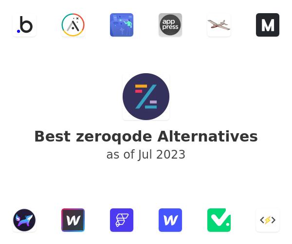 Best zeroqode Alternatives