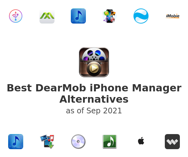 Best DearMob iPhone Manager Alternatives