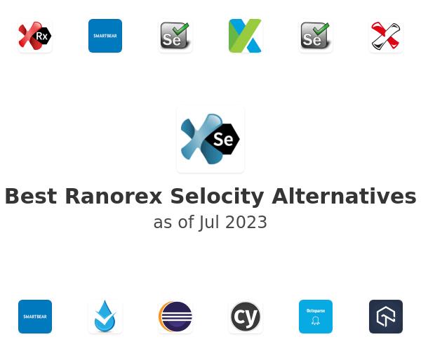 Best Ranorex Selocity Alternatives