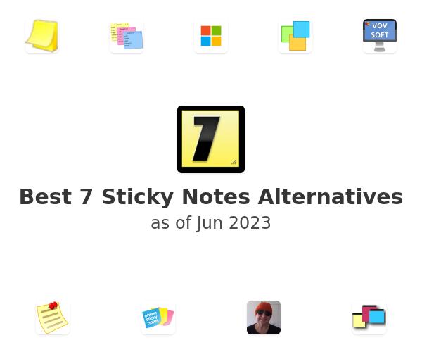 Best 7 Sticky Notes Alternatives