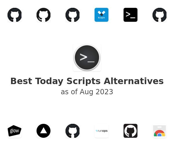 Best Today Scripts Alternatives