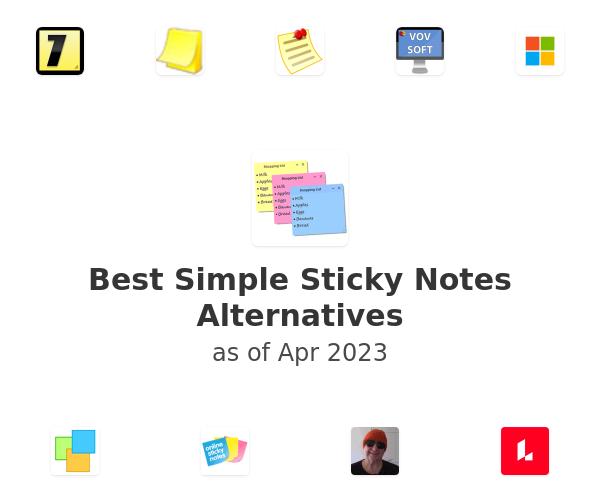 Best Simple Sticky Notes Alternatives