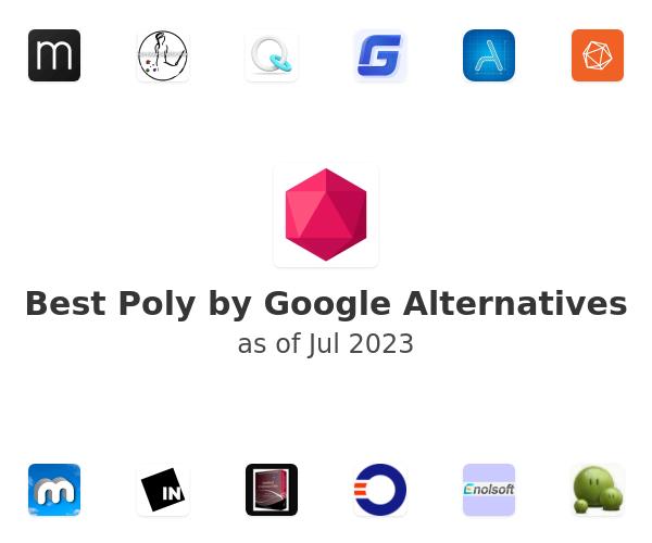 Best Poly by Google Alternatives