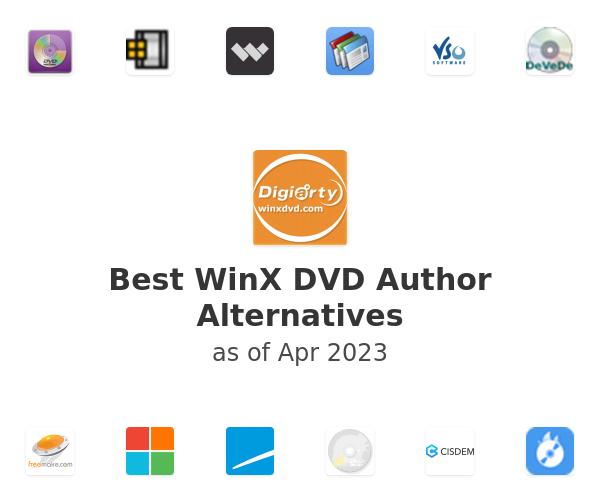 Best WinX DVD Author Alternatives