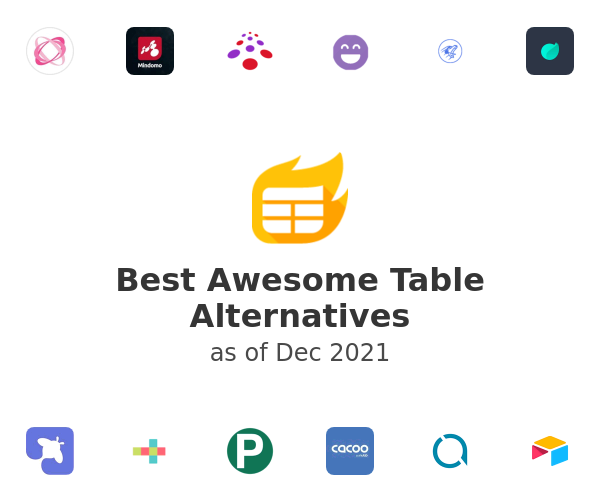 Best Awesome Table Alternatives