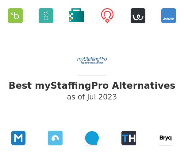 Best myStaffingPro Alternatives