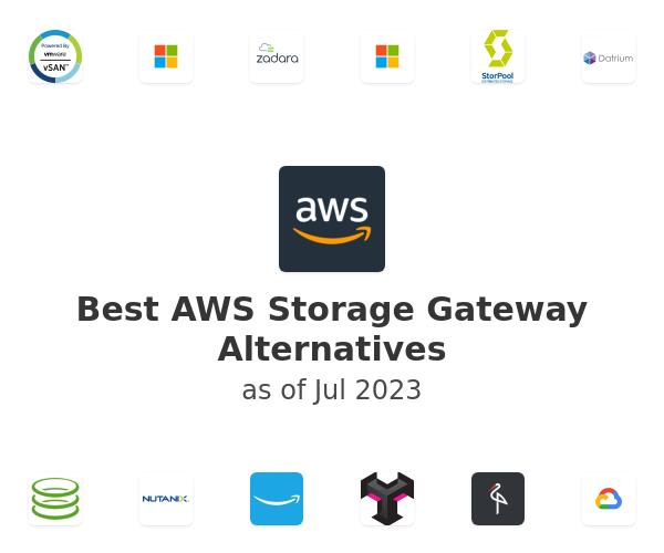 Best AWS Storage Gateway Alternatives