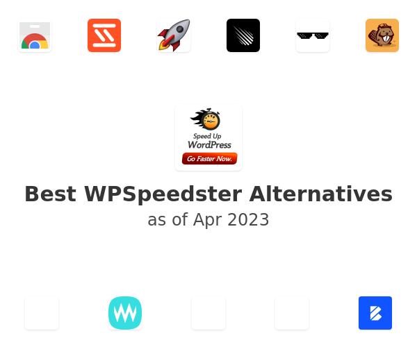 Best WPSpeedster Alternatives