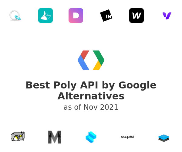 Best Poly API by Google Alternatives