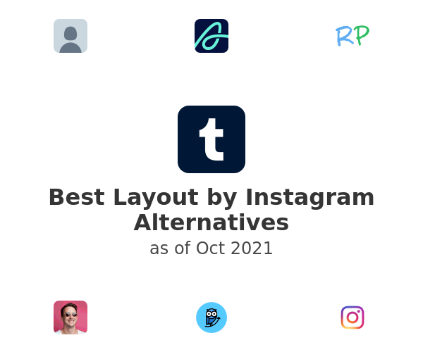 Best Layout by Instagram Alternatives