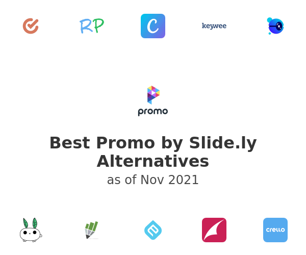 Best Promo by Slide.ly Alternatives