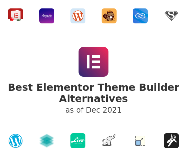 Best Elementor Theme Builder Alternatives