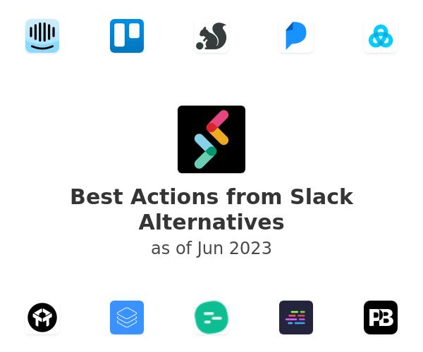 Best Actions from Slack Alternatives