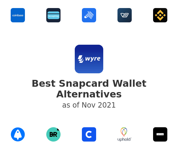 Best Snapcard Wallet Alternatives