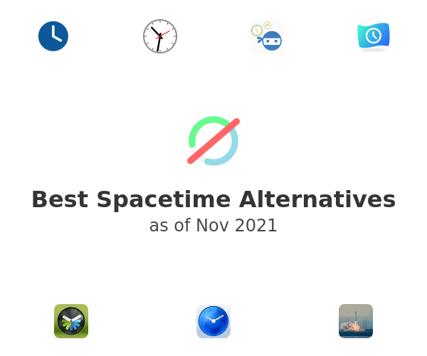Best Spacetime Alternatives