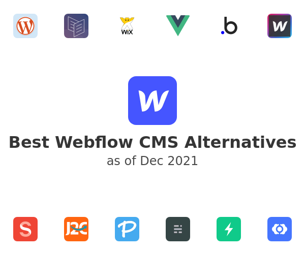 Best Webflow CMS Alternatives
