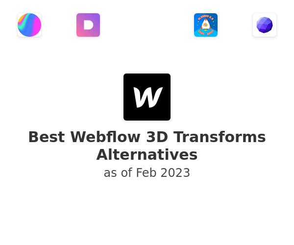 Best Webflow 3D Transforms Alternatives