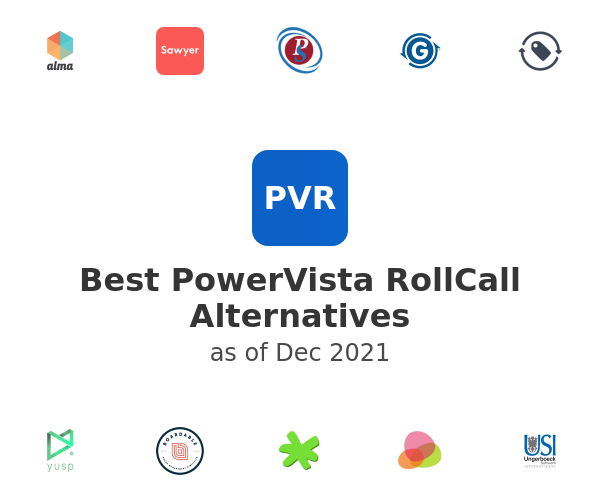 Best PowerVista RollCall Alternatives